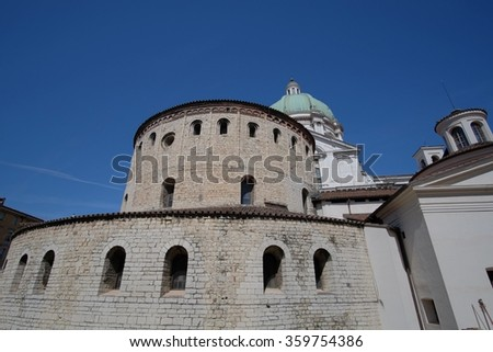 Old Cathedral of Brescia