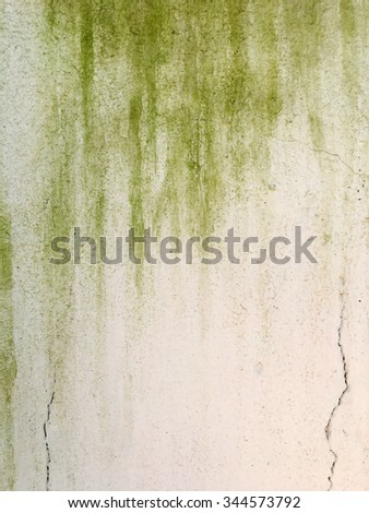 Old cement plaster wall, abstract background. - stock photo