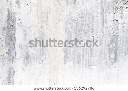 old cement plaster wall, background - stock photo
