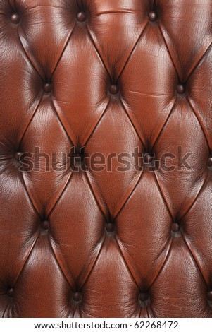 old chair's leather coating