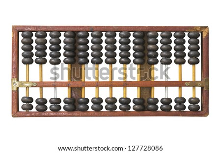 Stock images similar to id 63217984 old wooden abacus for Abacus cuisine of china