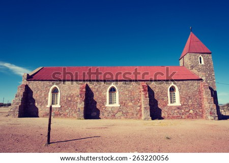 Old church. Shot in Warmbad, Namibia. 