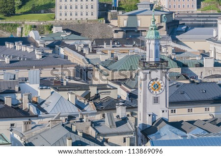 Old City Hall (Altes Rathaus) located at Salzburg, Austria