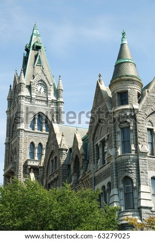 Old City Hall in Richmond Virginia - stock photo