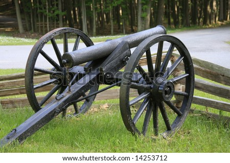 old civil war cannon