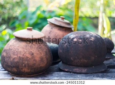 Old Clay pot