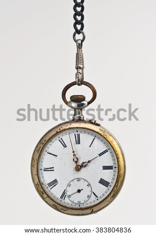 Old Clock A+ - stock photo