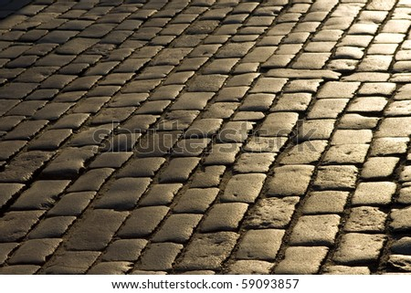 Cobblestone path stock images royalty free images for Cobblestone shutters