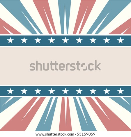 Old Colors American - stock photo