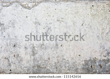 old concrete column surface texture background - stock photo