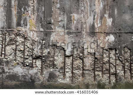 old concrete wall texture as nice architecture background