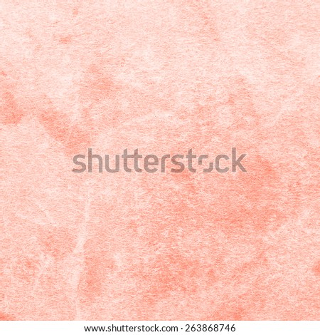 Old Coral Paper Texture. Background - stock photo