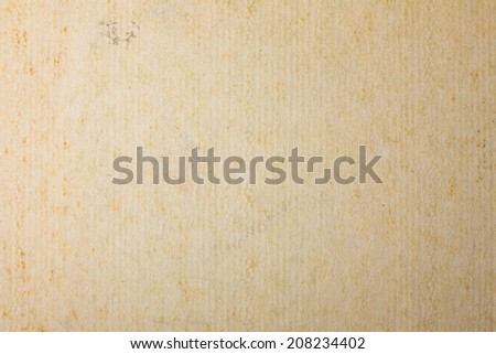 Old Corrugated Cardboard Background, Recycle Paper Texture - stock photo