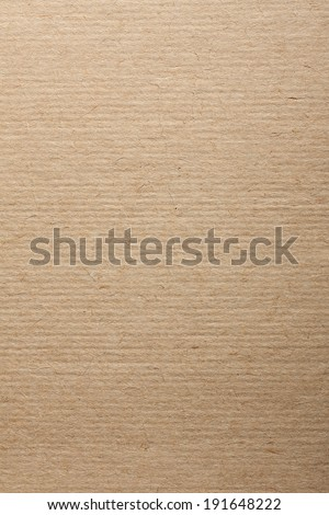 Old Corrugated Cardboard Texture - stock photo