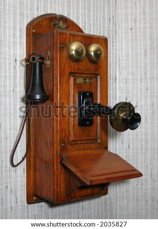old country phone