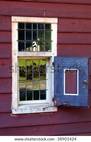 Old country window