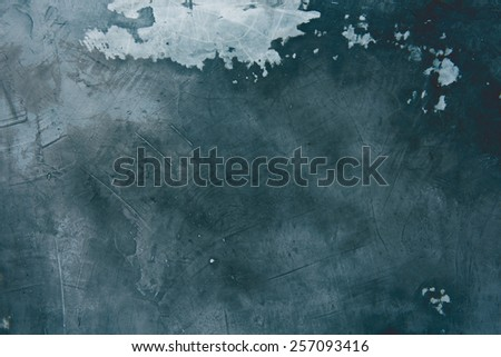 Old cracked cement wall texture background - stock photo
