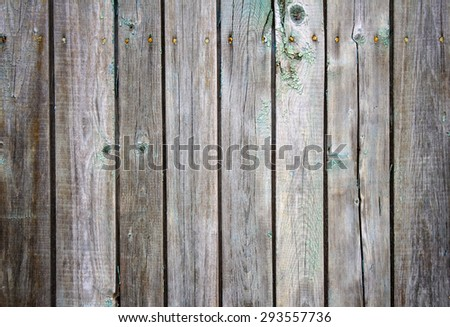 old cracked planks surface, background