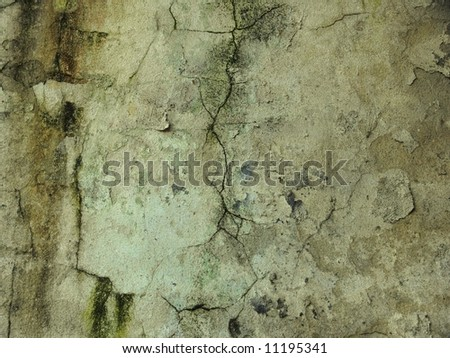Old cracked wall background