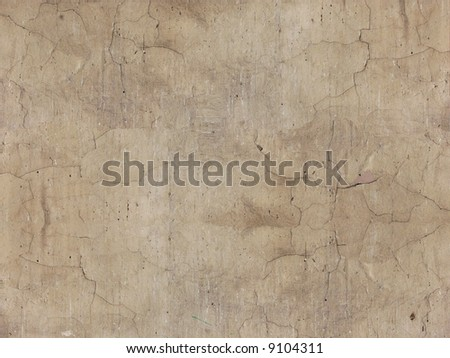 Old cracked wall texture background - stock photo