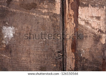Old dark wooden background