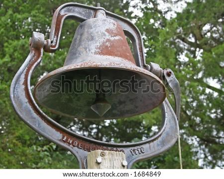 Old Dinner Bell - stock photo