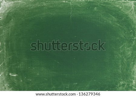Old dirty chalkboard - stock photo