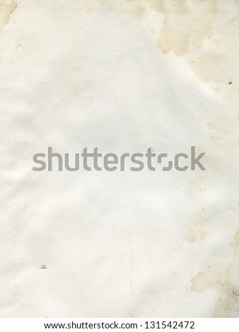 old dirty paper - stock photo