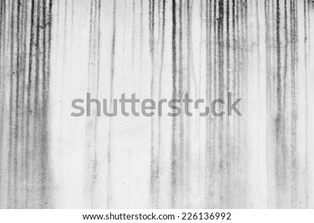 Old dirty wall texture in black and white color - stock photo