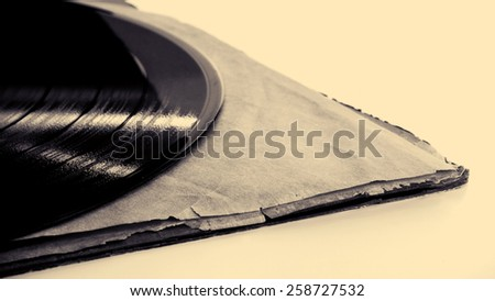 old disc - stock photo