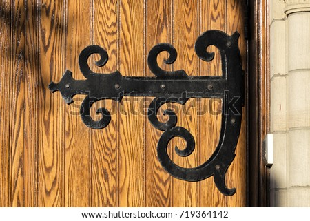 Old Door Hinges