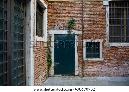 old door in italy