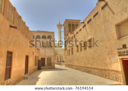 Old Dubai ,United Arab Emirates - stock photo
