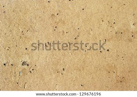 old empty cork board, background - stock photo