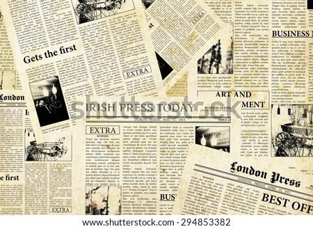 Old Newspaper Blank