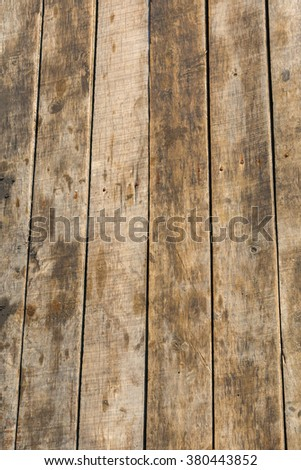 Old exterior wood surface of background