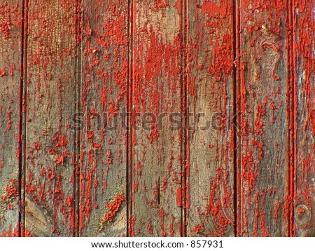 OLD FADED BARN BOARDS - stock photo
