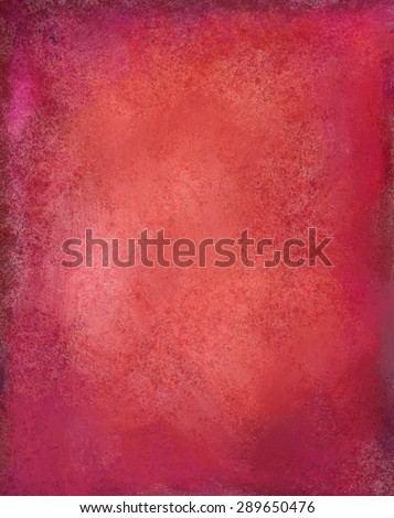 Old faded red background. Christmas background with texture. - stock photo