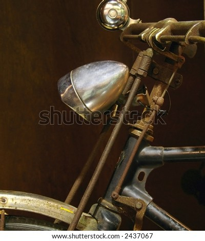 Old Farmer's Bike -- as it is commonly used by Chinese peasants