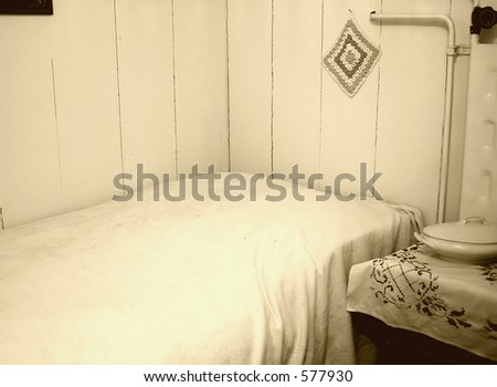 Old Fashioned Bedroom Stock Photo (Royalty Free) 577930 - Shutterstock