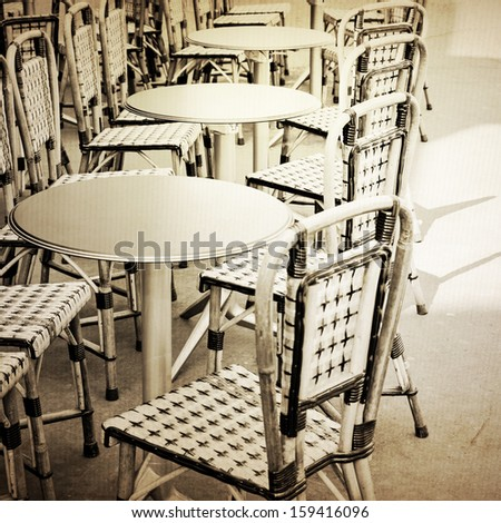 Vintage Chairs Marrakech Morocco Africa Stock Photo 358452959 Shutterstock