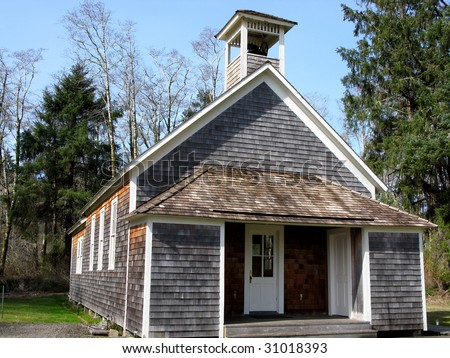 old fashioned school house stock photo 31018393 - shutterstock