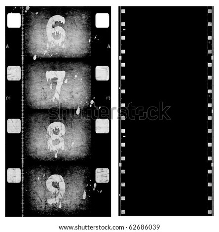Old Film roll - stock photo