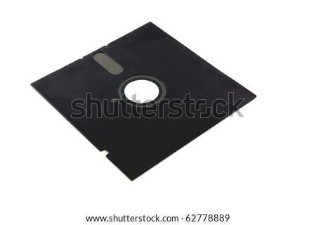 Old floppy disk - stock photo