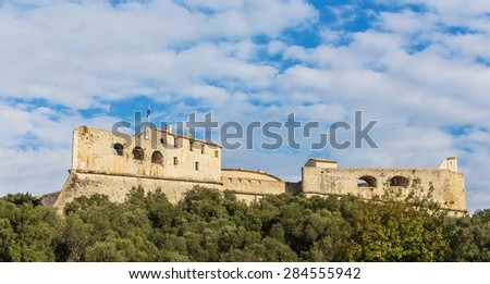 Old Fortress, Provence, France - stock photo