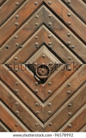 old gates - stock photo