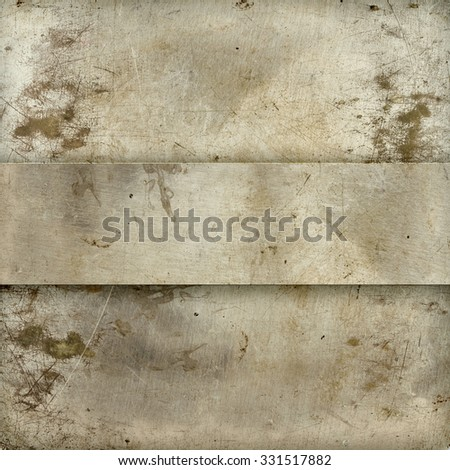 Old Grange napless metallic background - stock photo