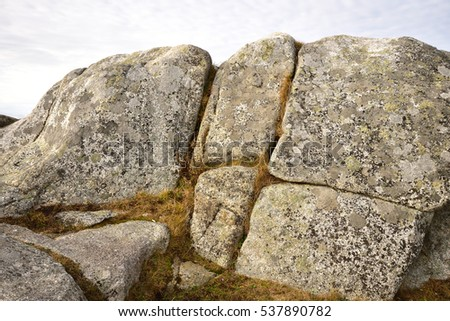 Old Granite Rock (taken at Peggy's Cove)