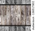 old gray boards fence wood texture wallpaper - stock photo