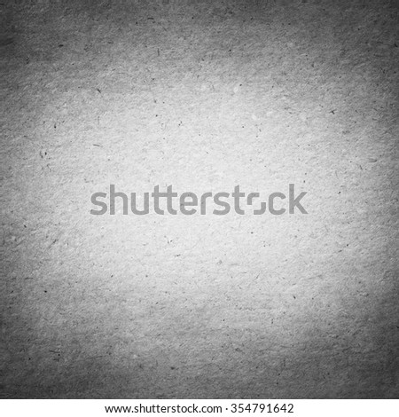 Old Gray Paper Background, Vintage Texture - stock photo